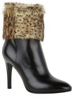 Saint Laurent Debbie cuff ankle boots