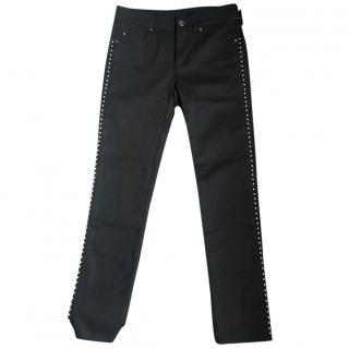 Alexander McQueen pearl jeans
