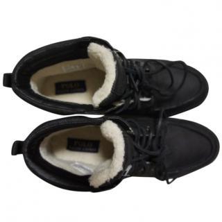 Polo Ralph Lauren Tedd Moc/Sneakers - Leather & Synth Sheepskin