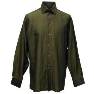 Richard James Dark Green Shirt