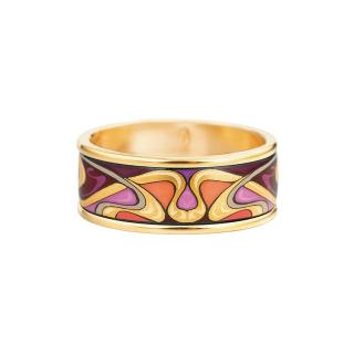 Frey Wille Earrings & Ring Hommage Alphonse Mucha