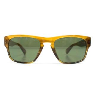 Paul Smith Square Framed Brown Sunglasses