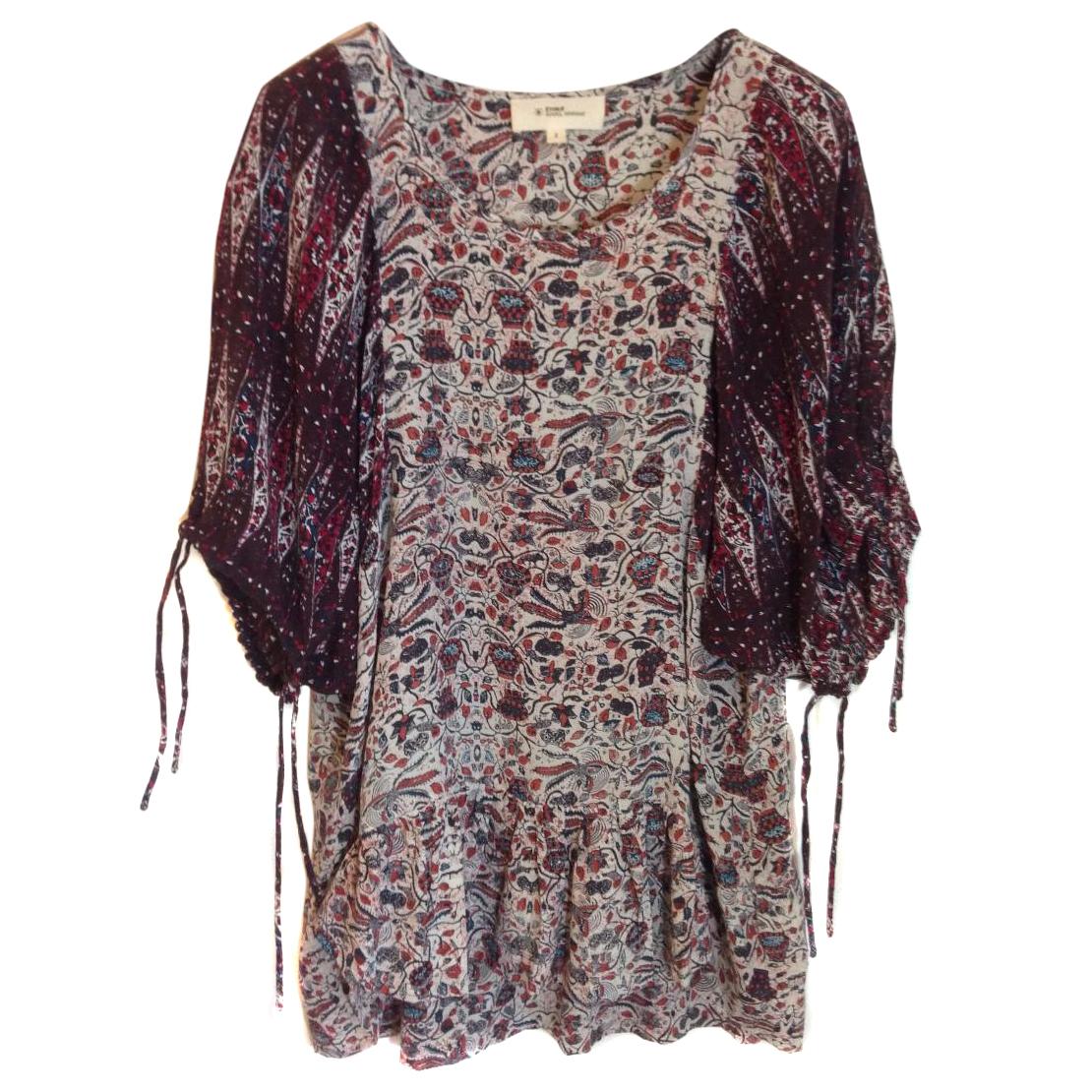 Isabel Marant Etoile Anouk Floral Silk Blouse