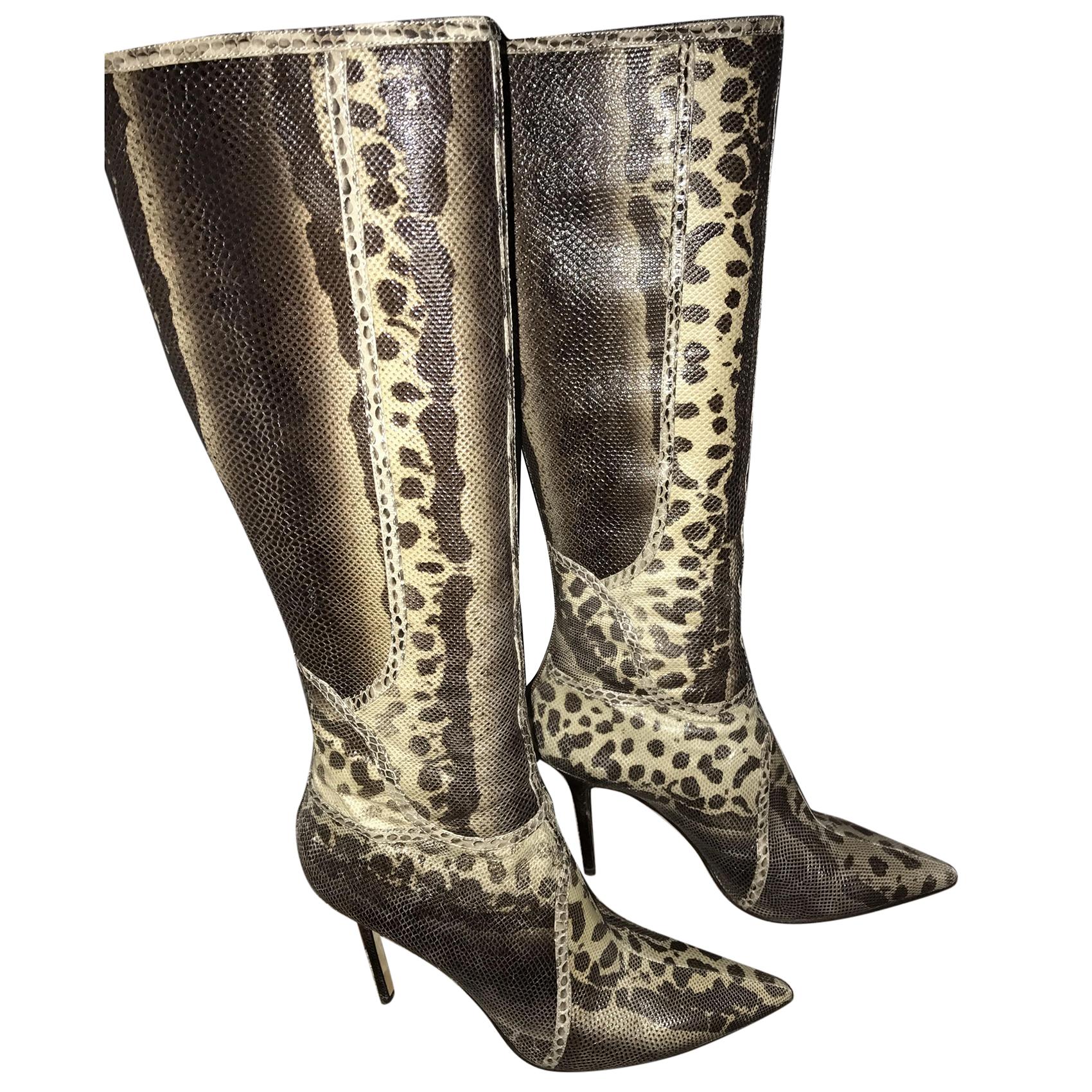 Jimmy Choo Snakeskin Boots | HEWI