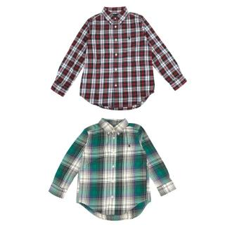 Ralph Lauren Boys Two Checked Shirts