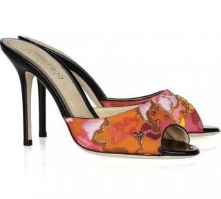 Jimmy Choo Sandals Ava Embellished Mules