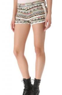 Iro Lofina Geometric Patterned Shorts