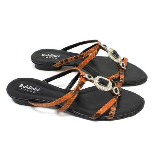 Baldinini Trend Flat Sandals
