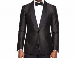 Ralph Lauren Black Label Black Anthony Silk Tuxedo Jacket