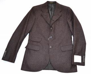 RRL Ralph Lauren brown wool jacket