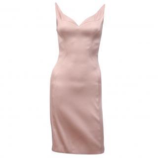 Prada Stretch-Satin Dress