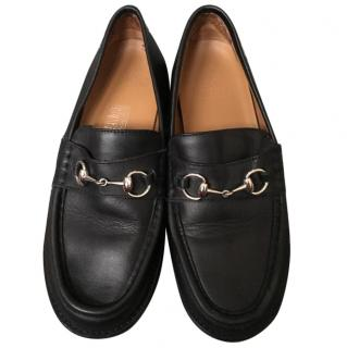 Gucci Boy's Black Loafers