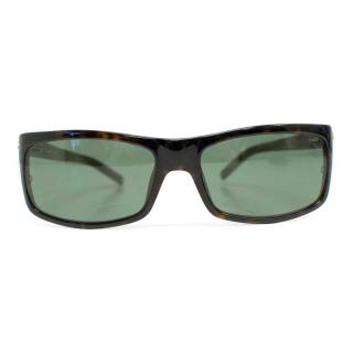 Mont Blanc Sunglasses with Square Tortoise Shell Frame