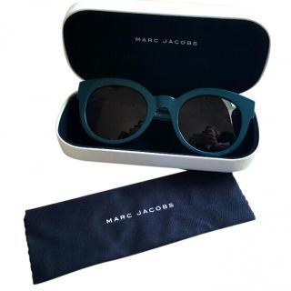 Marc Jacobs Dark Green Sunglasses