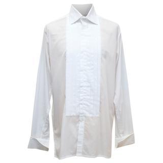 Richard James White Shirt With Beaded Embellishment
