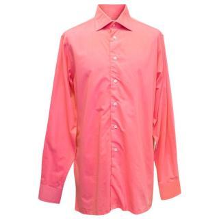 Richard James Men's Pink Shirt