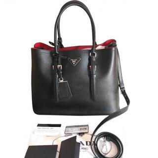 Prada Black Double Bag