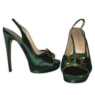 Casadei Jewelled Sandals