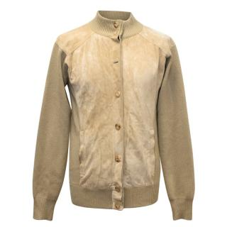 Gucci Men's Khaki Wool Jacket