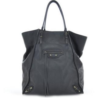 Balenciaga Black Papier Basket Bag