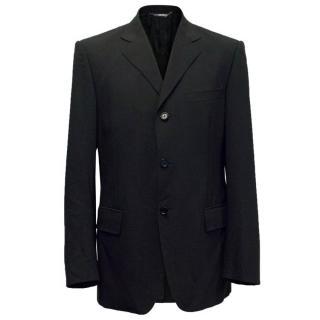 Dolce & Gabbana Mens Black Blazer