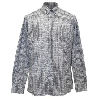 Bottega Veneta Pattern Shirt