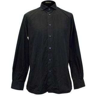 Bottega Veneta Men's Black Shirt