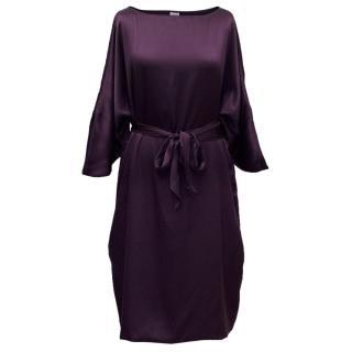 Armani Collezioni Silk Dress With Belt