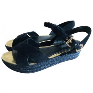 Louis Vuitton platform sandal