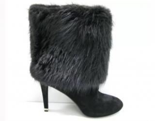 Louis Vuitton beaver fur boots