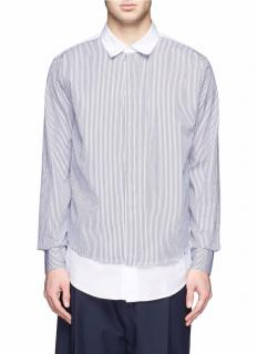 Marni double layered cotton shirt