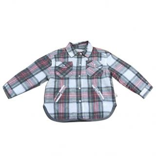 Stella McCartney Kids Quilted shirt