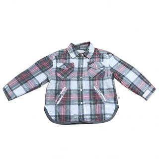Stella McCartney Kids Quilted shirt