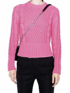 Acne Lia cable knit