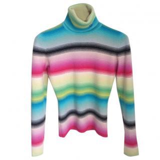 Matthew Williamson colourful cashmere jumper