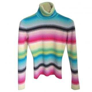 Matthew Williamson colourful cashmere jumper