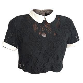 Opening Ceremony little black blouse