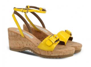 Stella McCartney Women's Yellow Linda Sandals