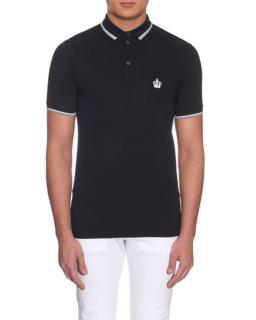 Dolce & Gabbana Black Polo Shirt
