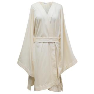 Vionnet Beige Cashmere Oversized Coat/Cardigan