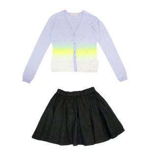 Finger in the Nose Girls Skirt and Anne Kurris Girls Cardigan