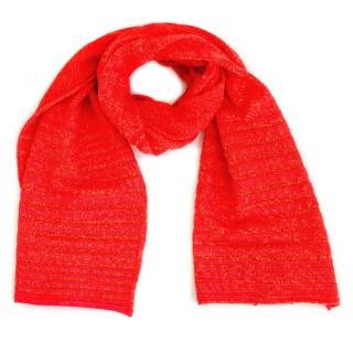 Missoni Red Spring Scarf