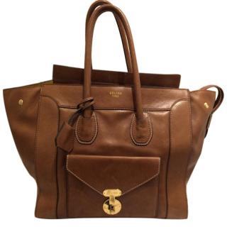 Celine Large Luggage Envelope Tote Bag