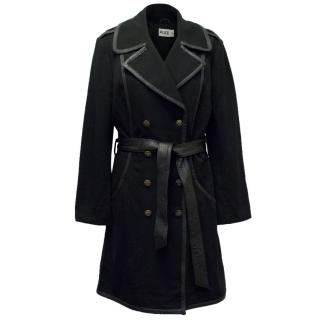 Alice By Temperley Black Trench Coat