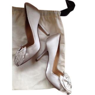 Lanvin Bridal Heels