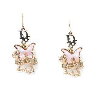 Christian Dior Butterfly Earrings