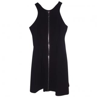 Maje Black Zip Dress