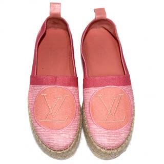 Louis Vuitton Pink Espadrilles