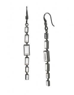 Diane Von Furstenberg Swarovski Drop Earrings