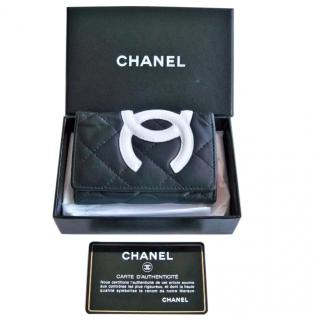 Chanel Cambon leather keyholder